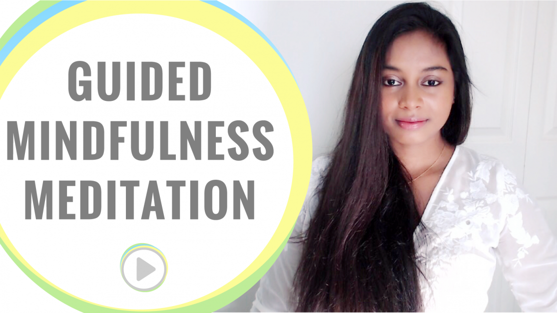 Guided mindfulness meditation session