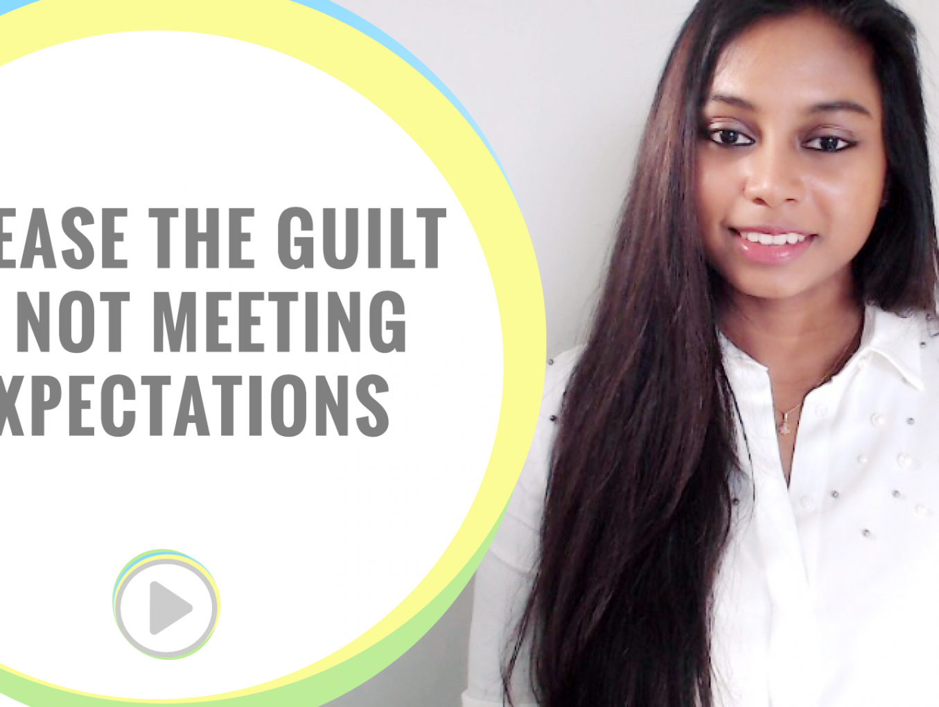 Dealing with guilt of not meeting expectations
